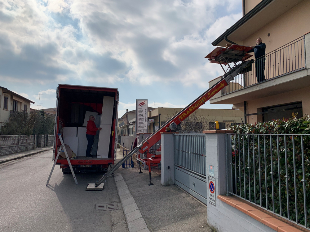 Trasloco Castelfiorentino